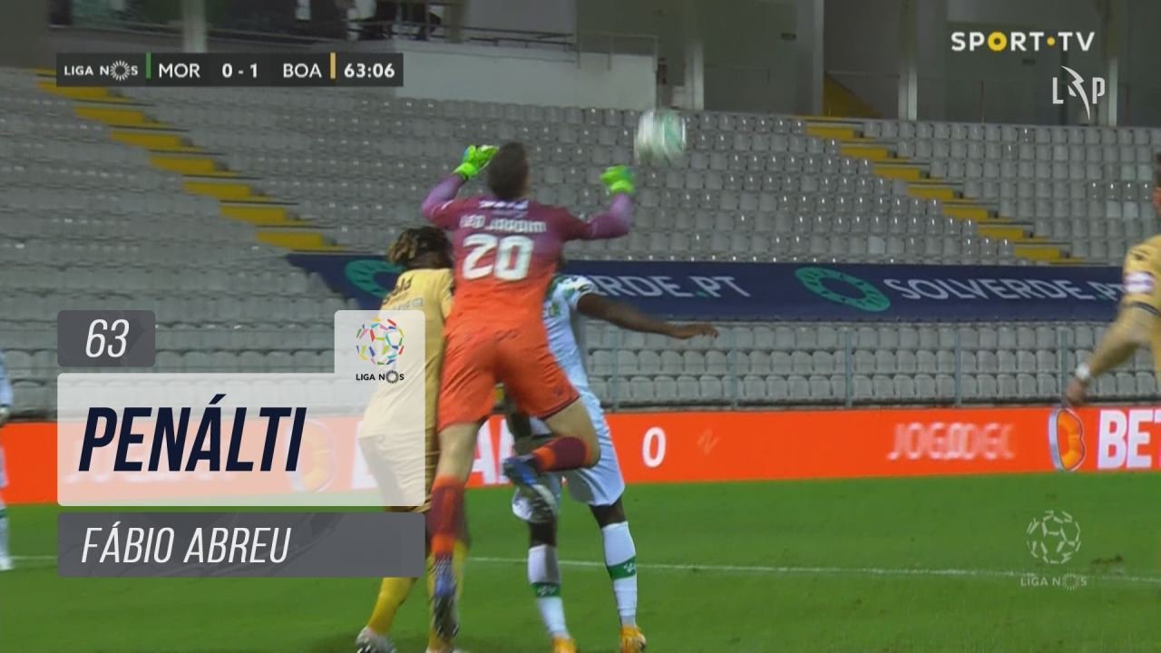 Moreirense FC, Penálti, Fábio Abreu aos 63'