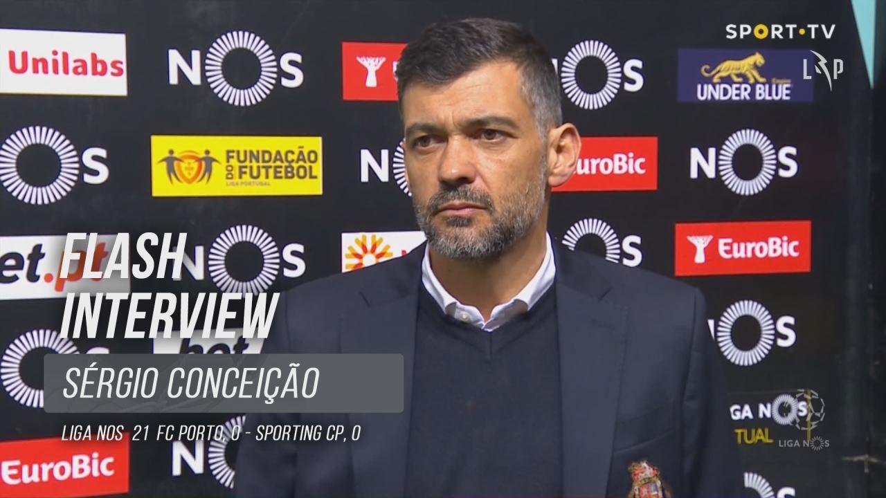 """Sérgio Conceição: """"Vão ter que levar connosco até ao fim"""""""