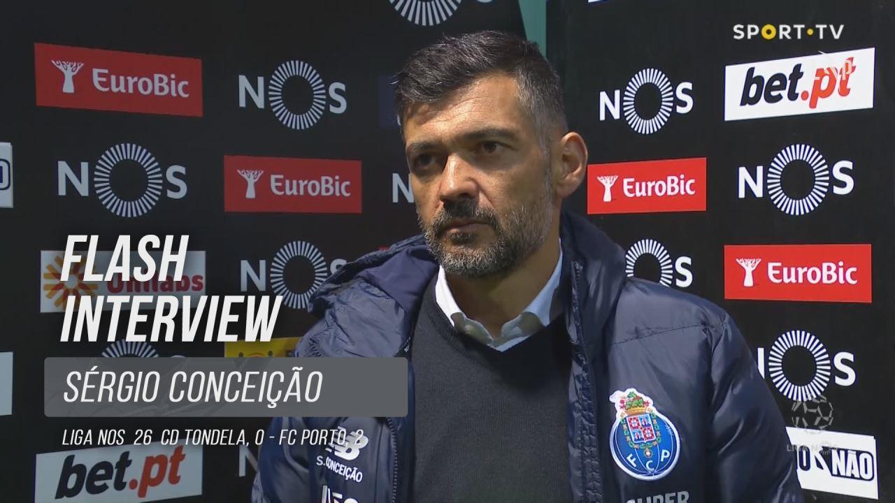 """Sérgio Conceição: """"Tivemos sempre o jogo controlado"""""""