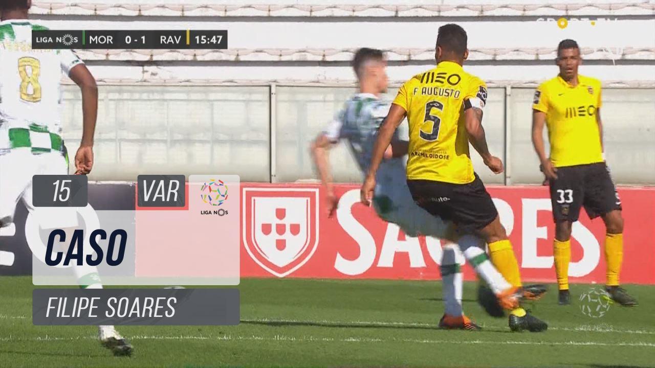 Moreirense FC, Caso, Filipe Soares aos 15'