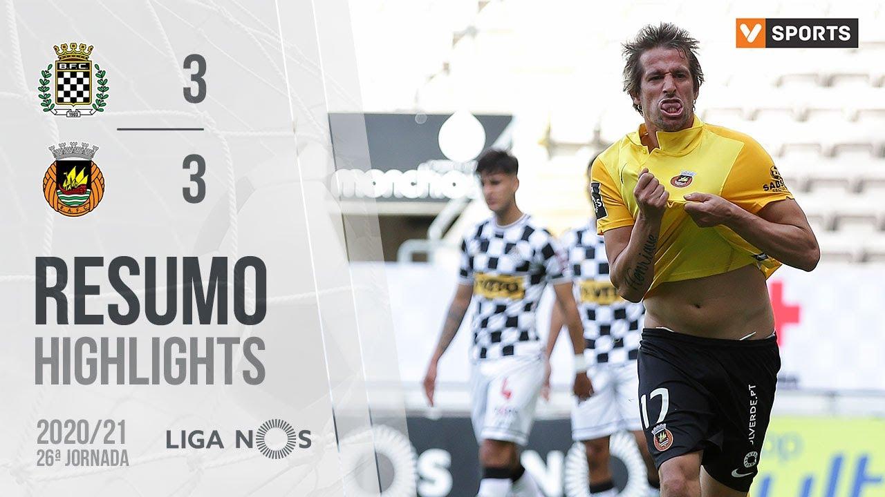 Liga NOS (26ªJ): Resumo Boavista FC 3-3 Rio Ave FC