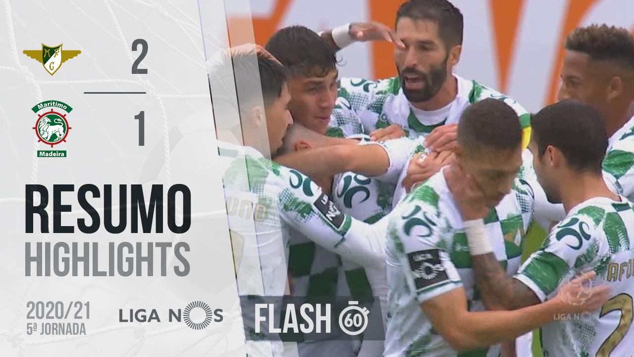 I Liga (5ªJ): Resumo Flash Moreirense FC 2-1 Marítimo M.