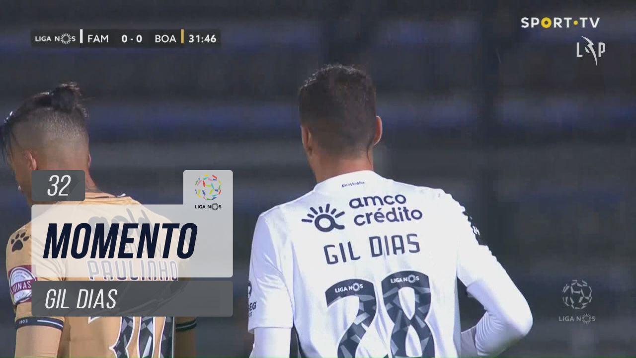 FC Famalicão, Jogada, Gil Dias aos 32'