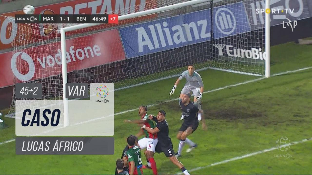 Marítimo M., Caso, Lucas Áfrico aos 45'+2'
