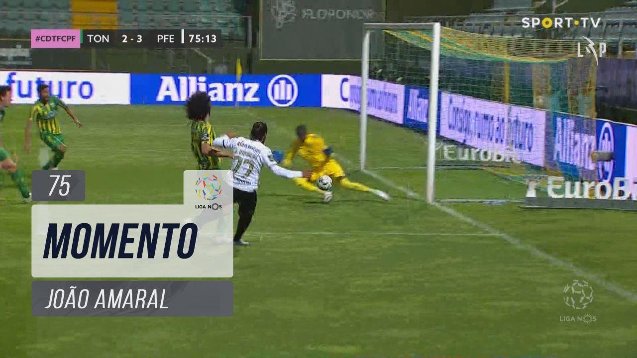 FC P.Ferreira, Jogada, João Amaral aos 75'