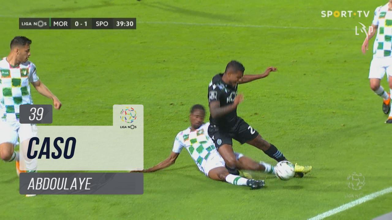 Moreirense FC, Caso, Abdoulaye aos 39'