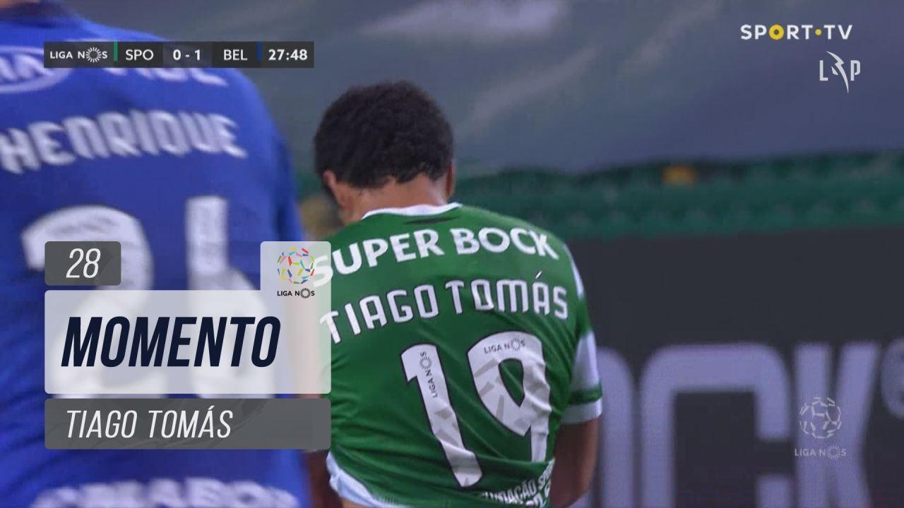 Sporting CP, Jogada, Tiago Tomás aos 28'