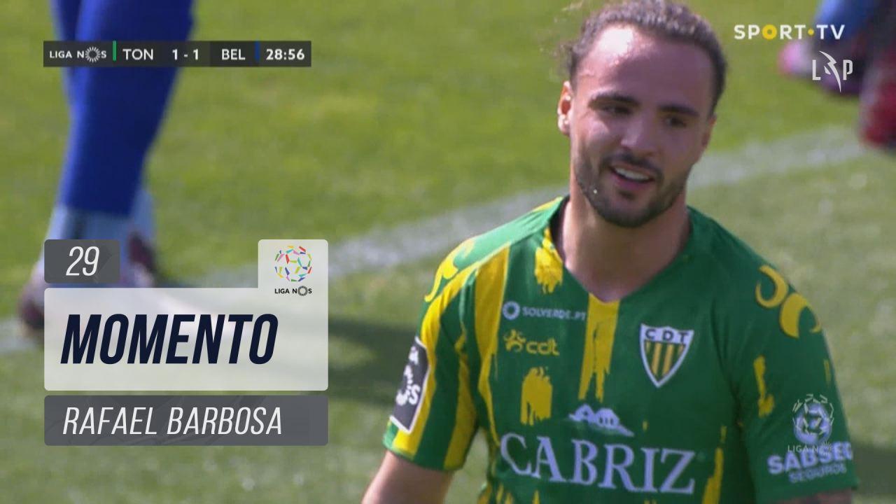 CD Tondela, Jogada, Rafael Barbosa aos 29'