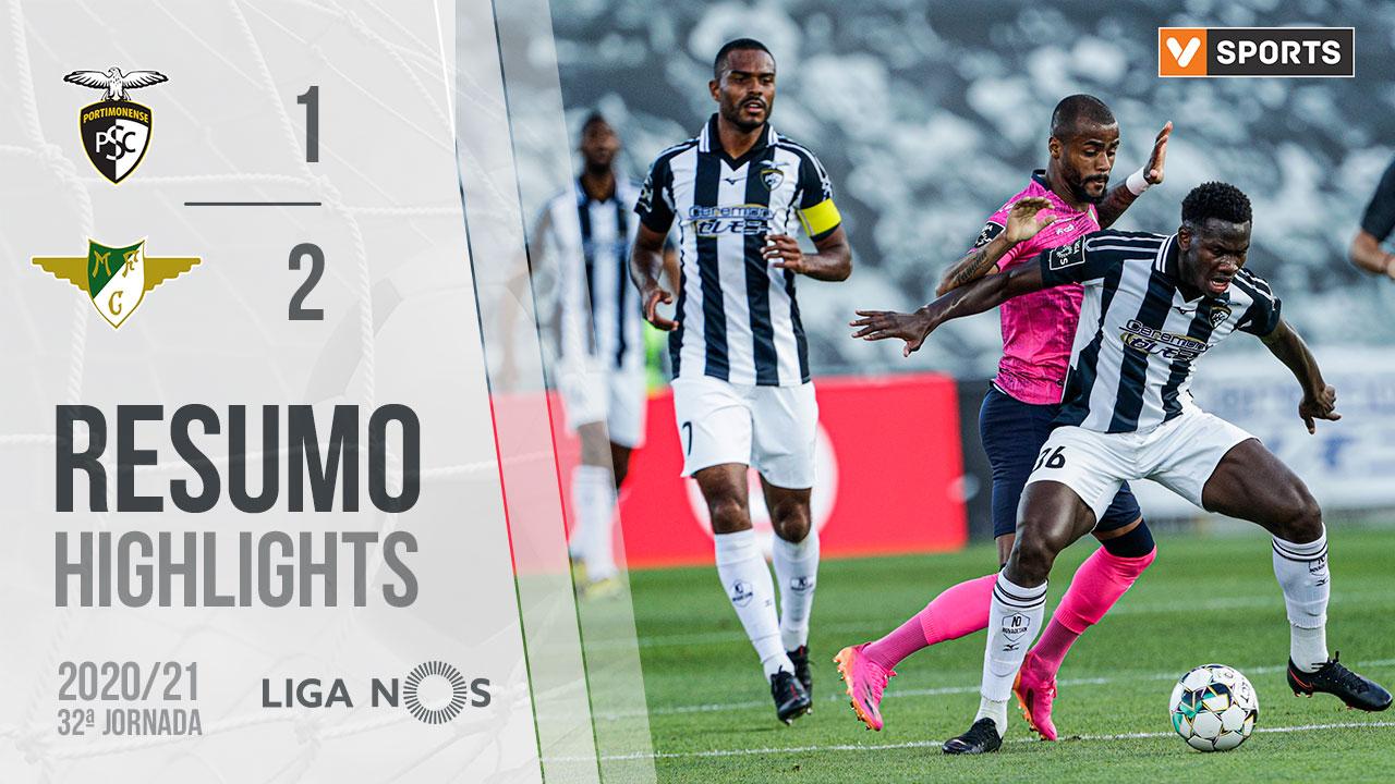 I Liga (32ªJ): Resumo Portimonense 1-2 Moreirense FC