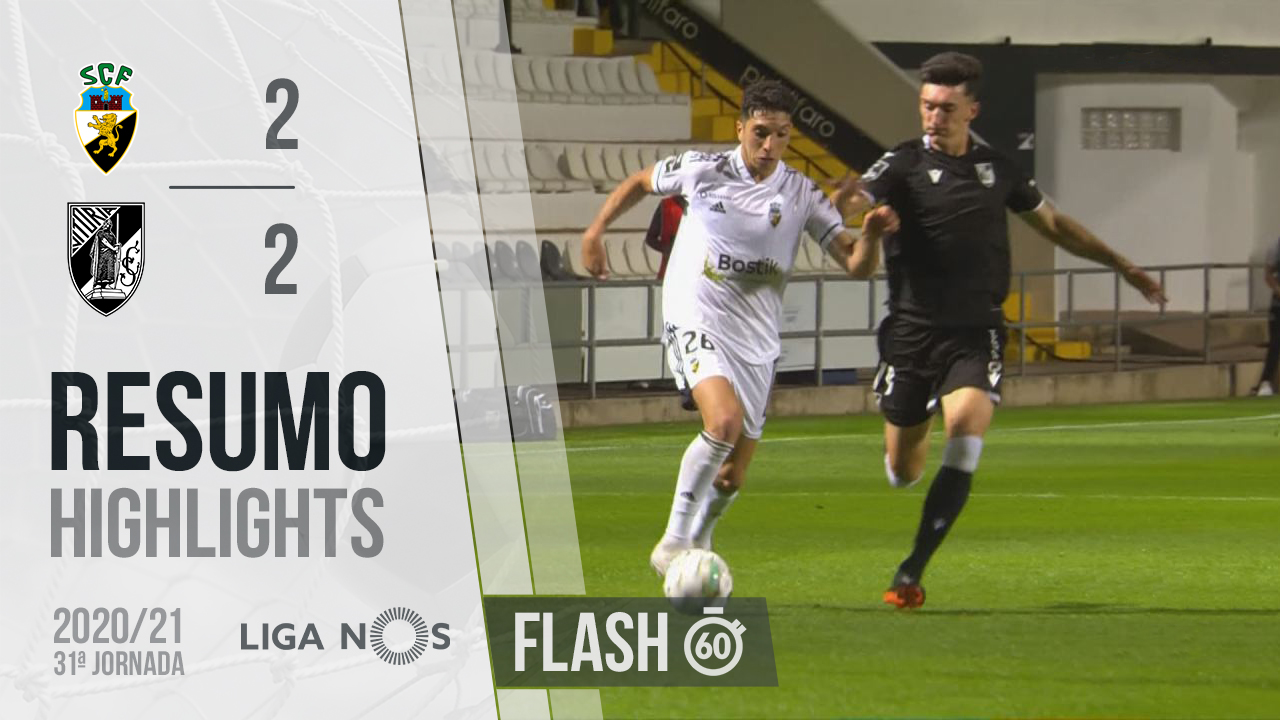 I Liga (31ªJ): Resumo Flash SC Farense 2-2 Vitória SC