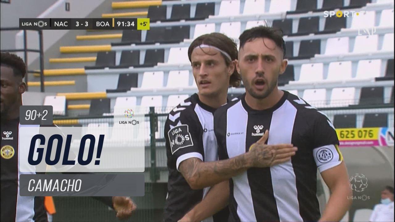 GOLO! CD Nacional, Camacho aos 90'+2', CD Nacional 3-3 Boavista FC