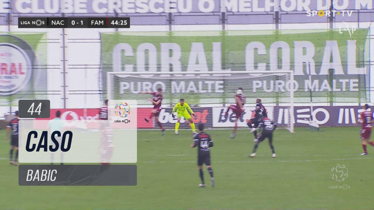 FC Famalicão, Caso, Babic aos 44'