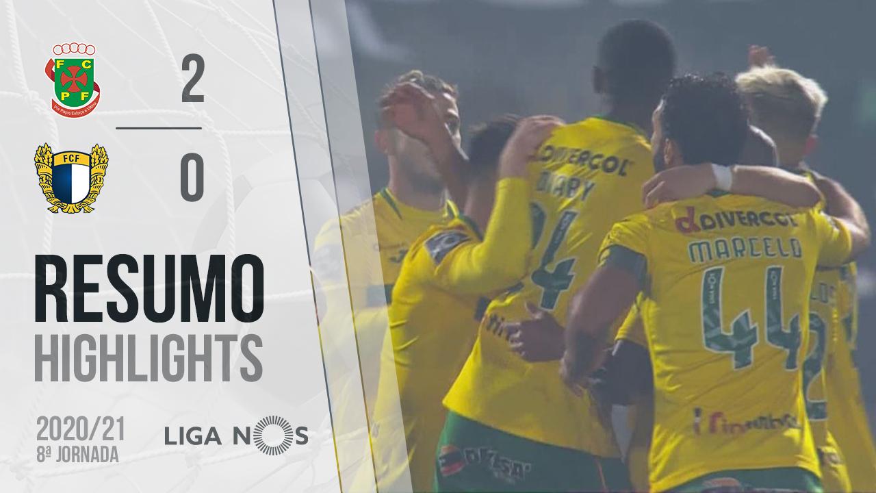 Liga NOS (8ªJ): Resumo FC P.Ferreira 2-0 FC Famalicão