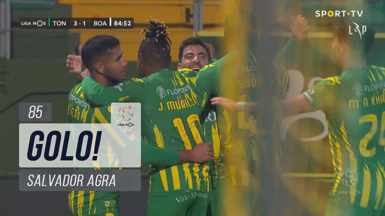 GOLO! CD Tondela, Salvador Agra aos 85', CD Tondela 3-1 Boavista FC