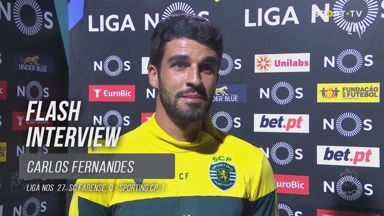 """Carlos Fernandes: """"É bom regressar às vitórias"""""""