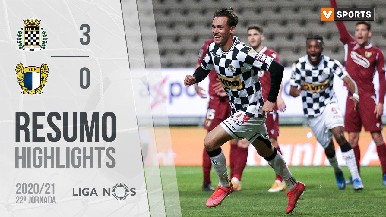 I Liga (22ªJ): Resumo Boavista FC 3-0 FC Famalicão