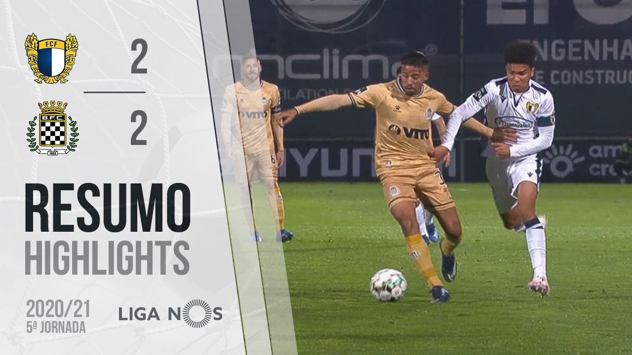 I Liga (5ªJ): Resumo FC Famalicão 2-2 Boavista FC