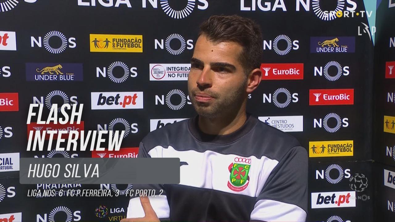 """Hugo Silva: """"Fomos bastante organizados"""""""