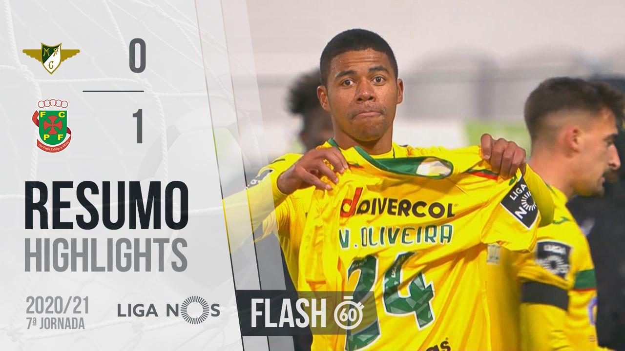 I Liga (7ªJ): Resumo Flash Moreirense FC 0-1 FC P.Ferreira