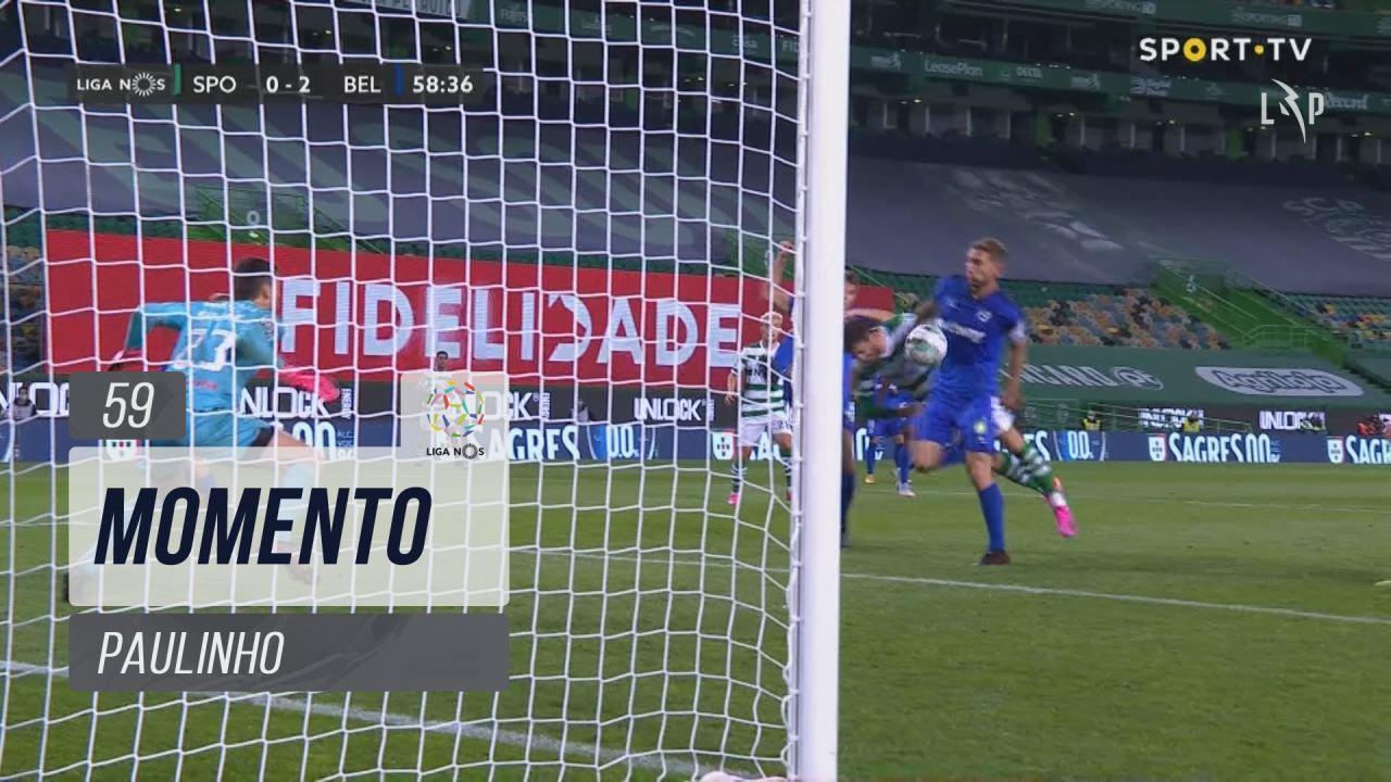Sporting CP, Jogada, Paulinho aos 59'