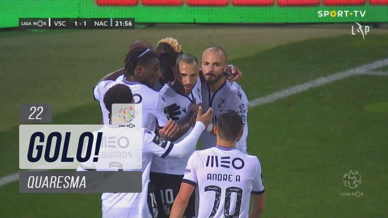GOLO! Vitória SC, Quaresma aos 22', Vitória SC 1-1 CD Nacional