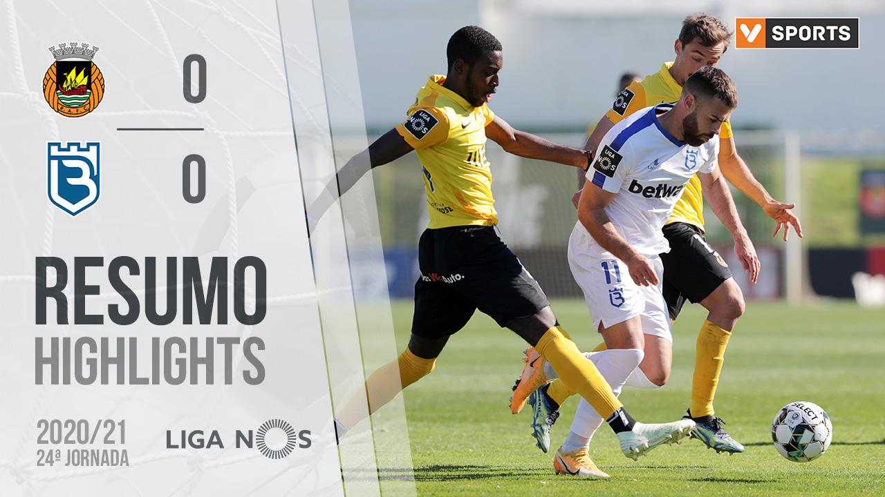 Liga NOS (24ªJ): Resumo Rio Ave FC 0-0 Belenenses SAD