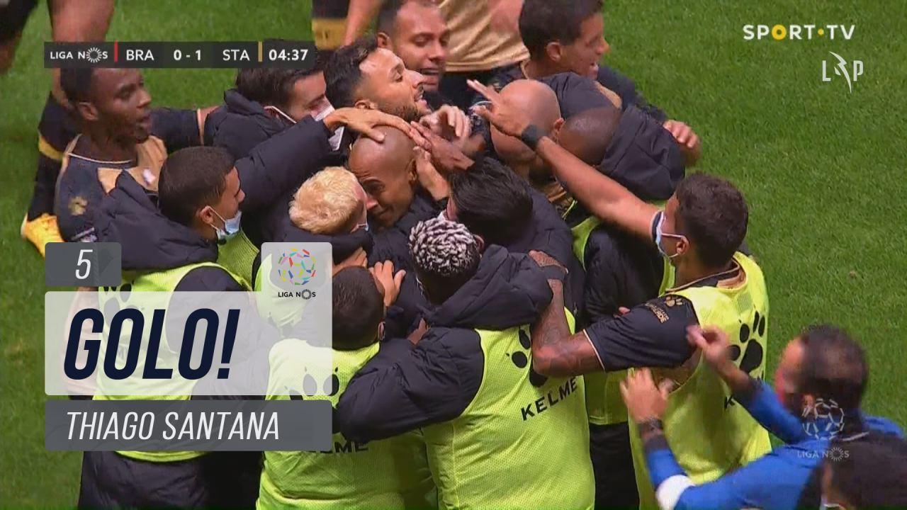 GOLO! Santa Clara, Thiago Santana aos 5', SC Braga...