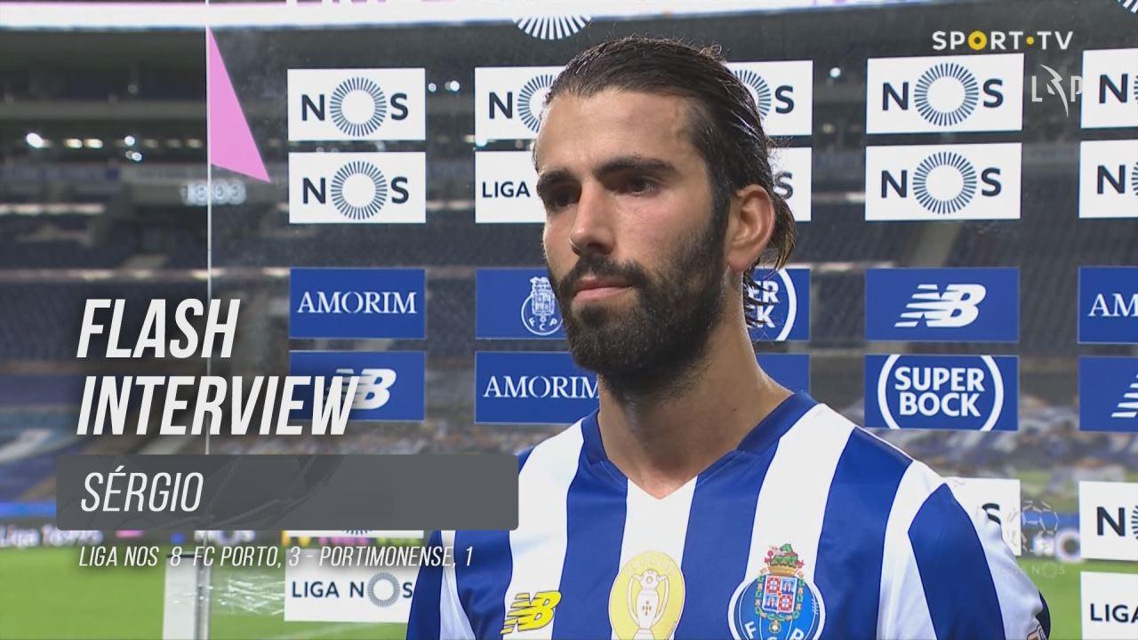 """Sérgio Oliveira: """"Feliz pela vitória, mas triste pela 1ª parte"""""""