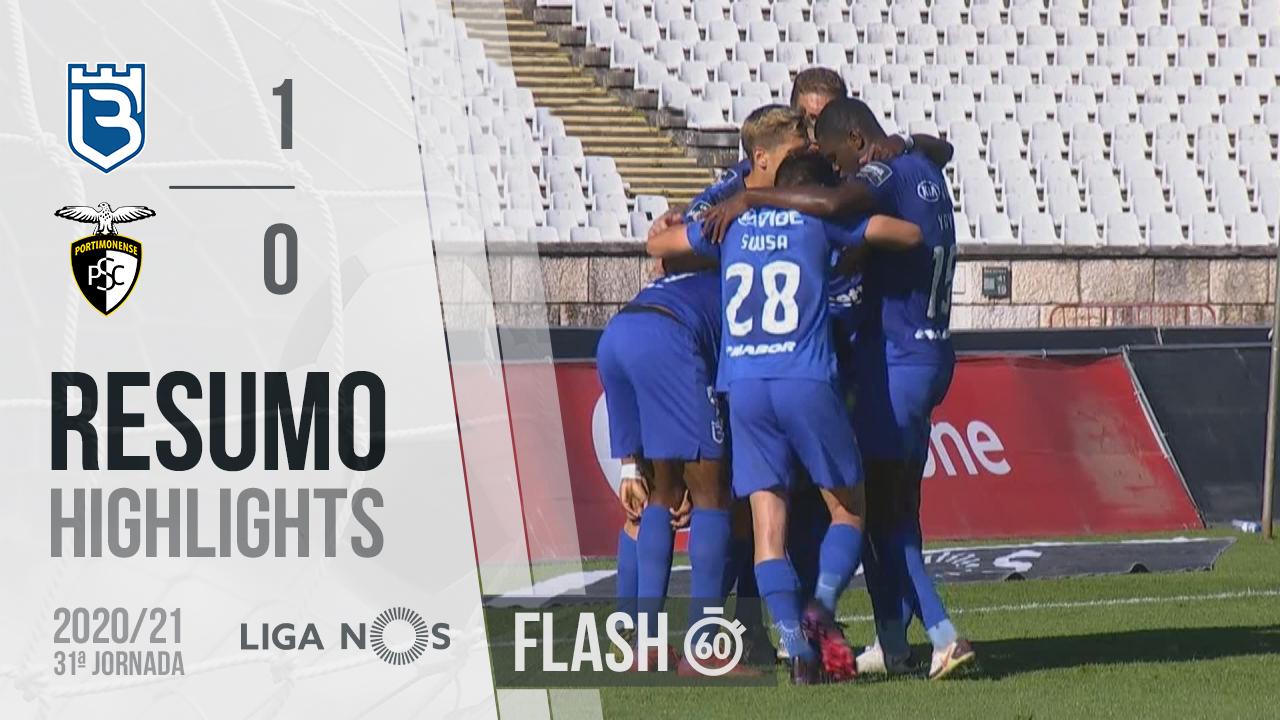 I Liga (31ªJ): Resumo Flash Belenenses SAD 1-0 Portimonense