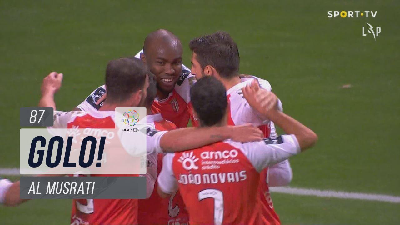 GOLO! SC Braga, Al Musrati aos 87', SC Braga 1-0 SC Farense