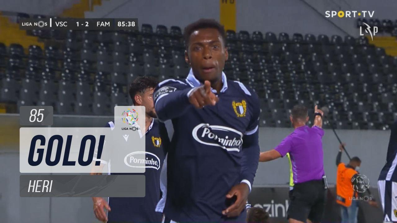GOLO! FC Famalicão, Heri aos 85', Vitória SC 1-2 FC Famalicão