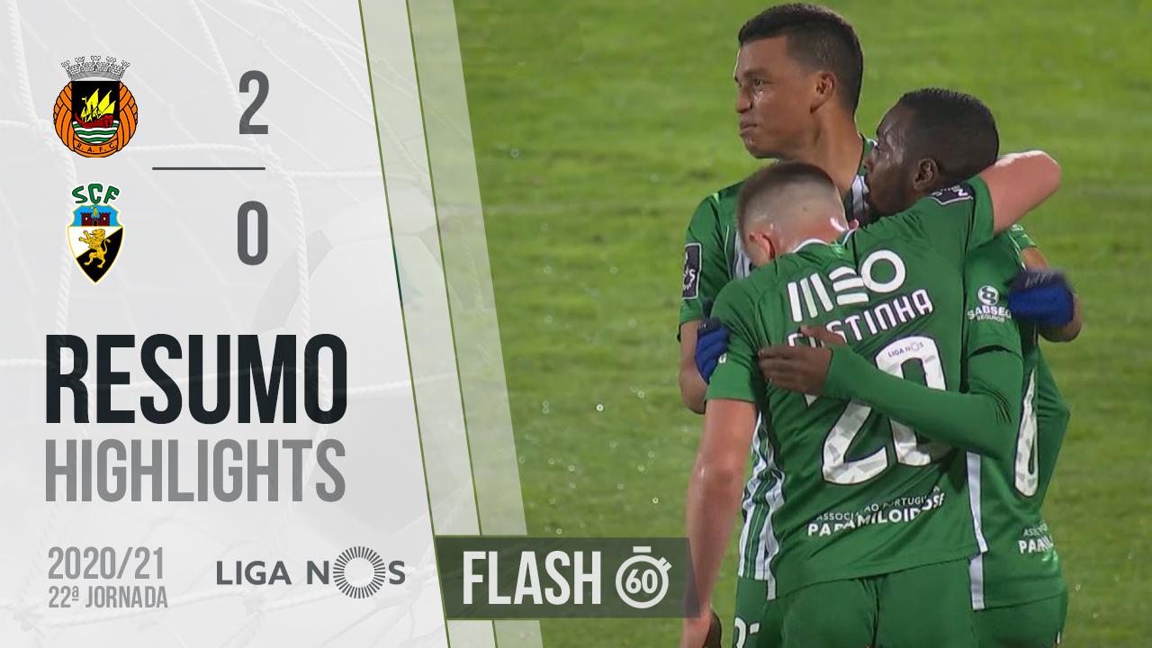 I Liga (22ªJ): Resumo Flash Rio Ave FC 2-0 SC Farense
