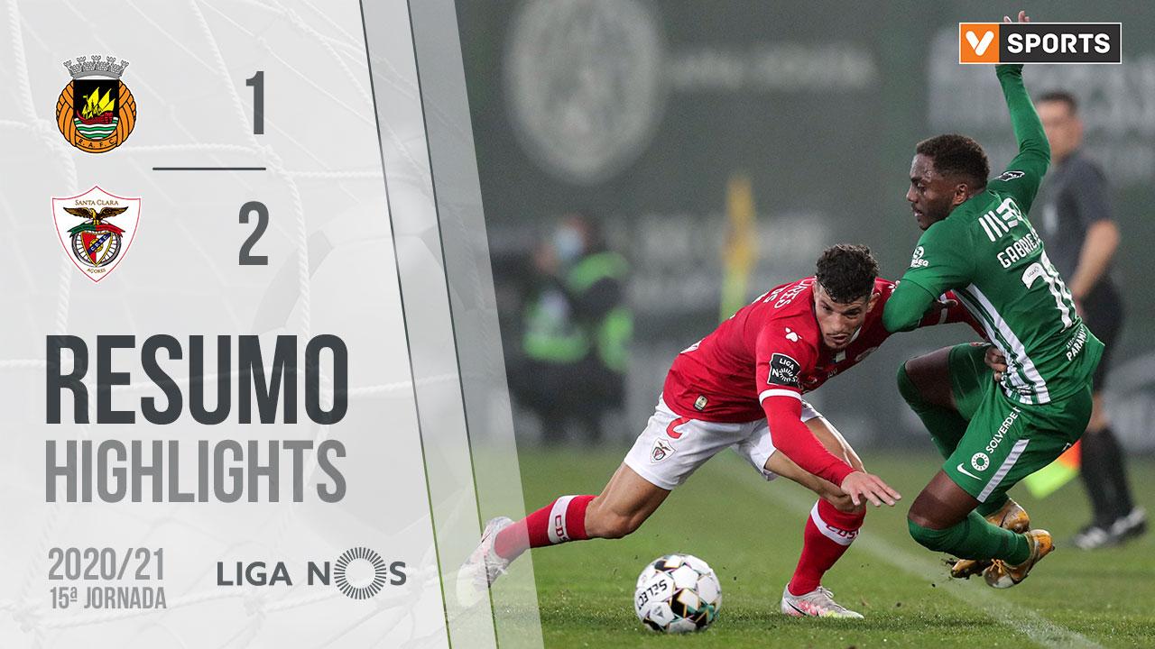 Liga NOS (15ªJ): Resumo Rio Ave FC 1-2 Santa Clara