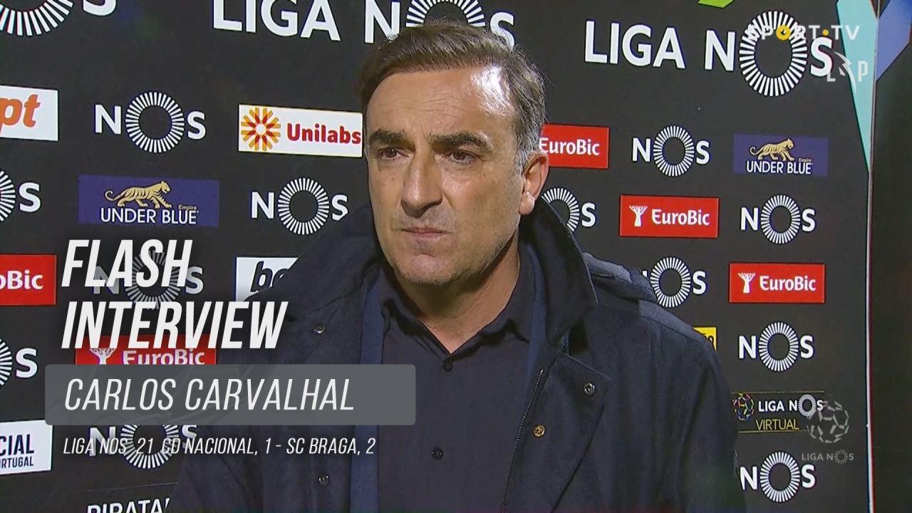 """Carlos Carvalhal: """"Não há vencedores sem sofrimento"""""""