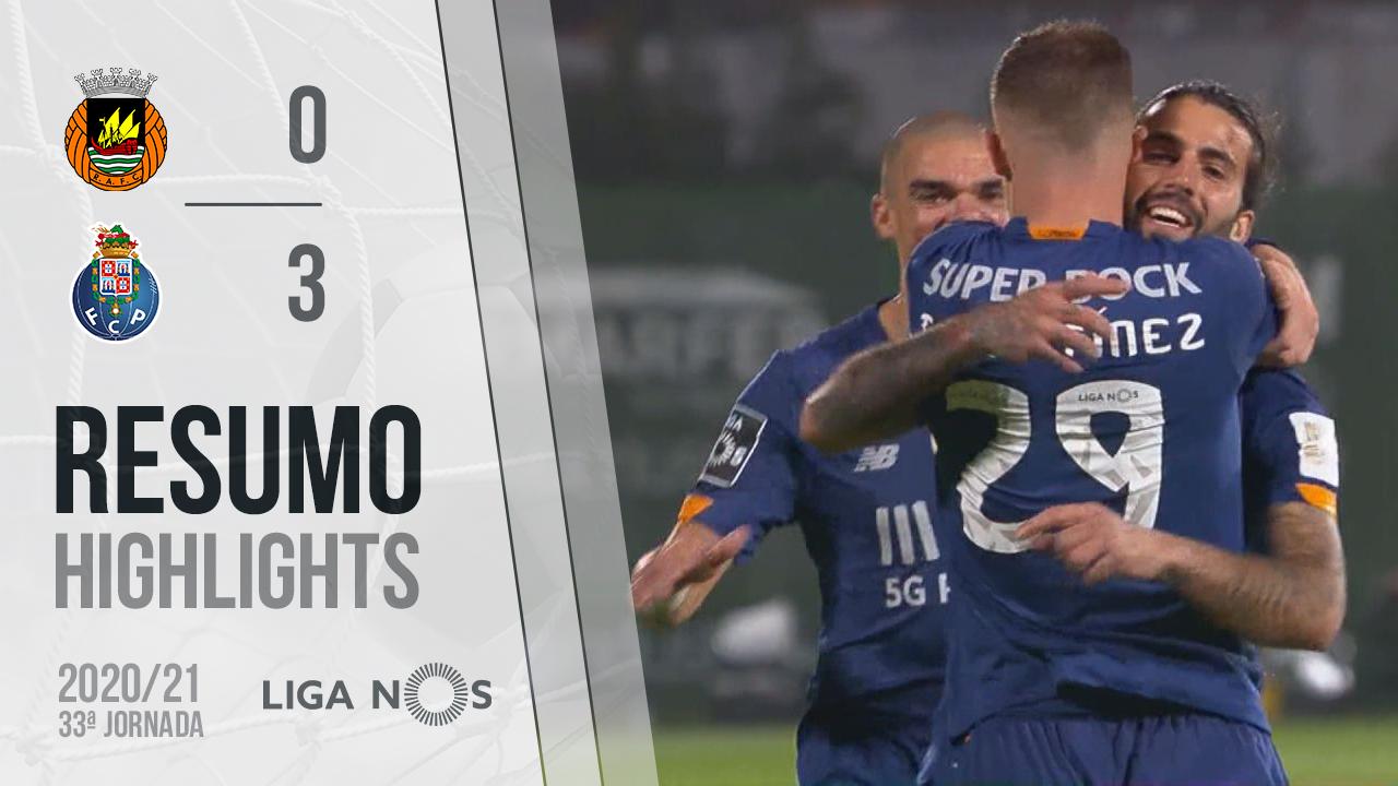 I Liga (33ªJ): Resumo Rio Ave FC 0-3 FC Porto