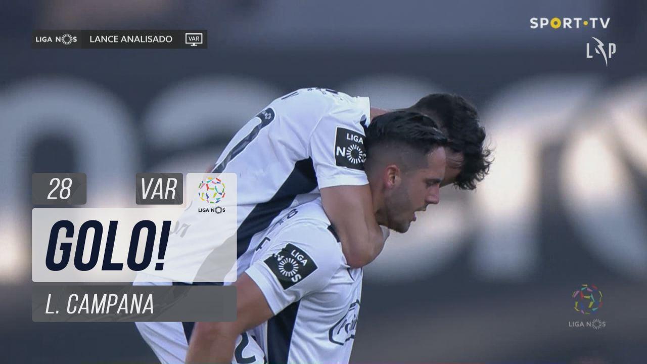 GOLO! FC Famalicão, L. Campana aos 28', FC Famalicão 2-0 CD Tondela