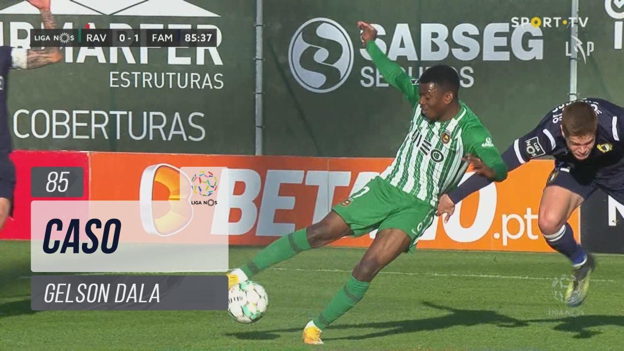 Rio Ave FC, Caso, Gelson Dala aos 85'