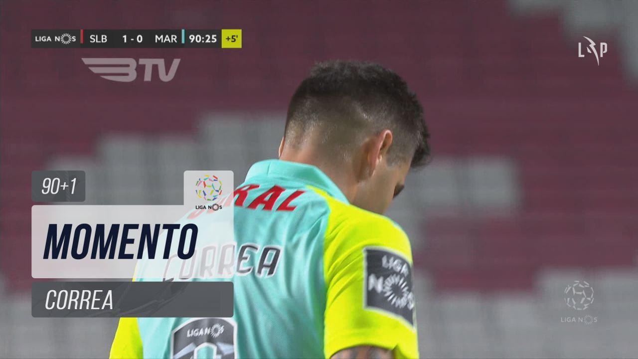 Marítimo M., Jogada, Correa aos 90'+1'