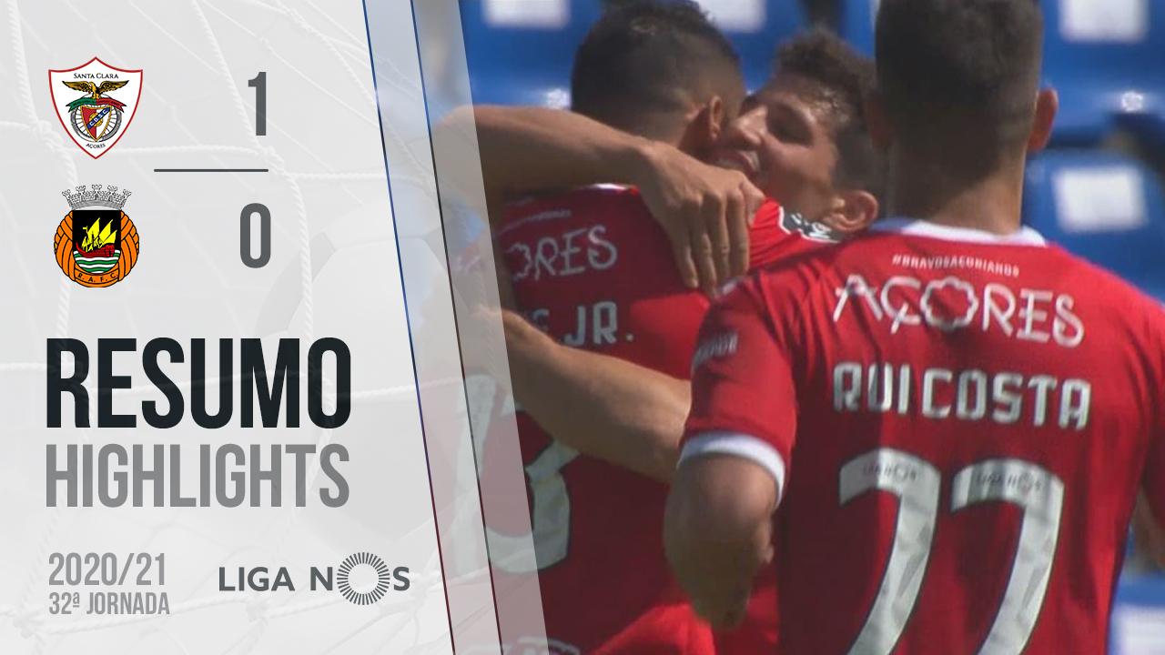 Liga NOS (32ªJ): Resumo Santa Clara 1-0 Rio Ave FC