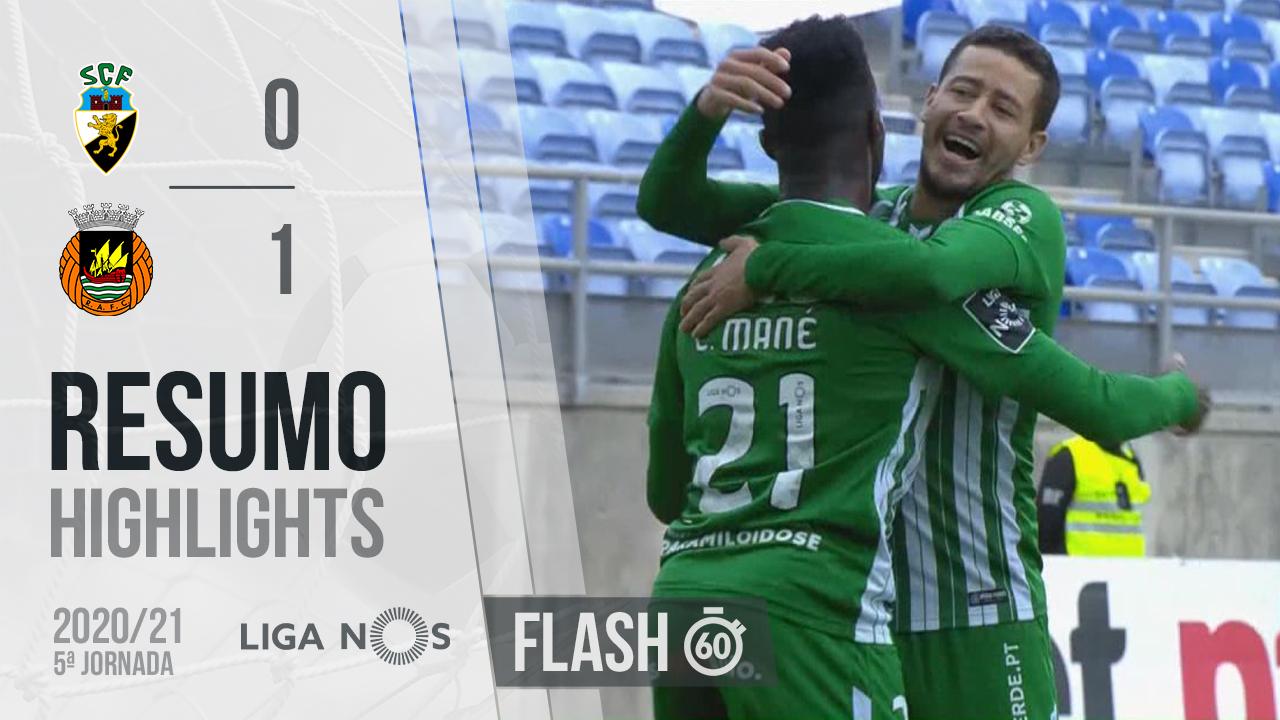 I Liga (5ªJ): Resumo Flash SC Farense 0-1 Rio Ave FC