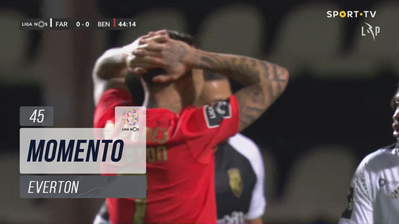 SL Benfica, Jogada, Everton aos 45'