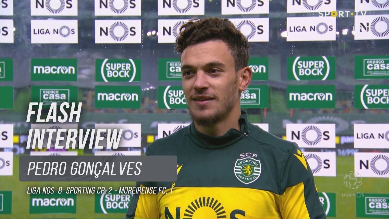 """Pedro Gonçalves: """"Trabalho todos os dias para dar o meu melhor"""""""