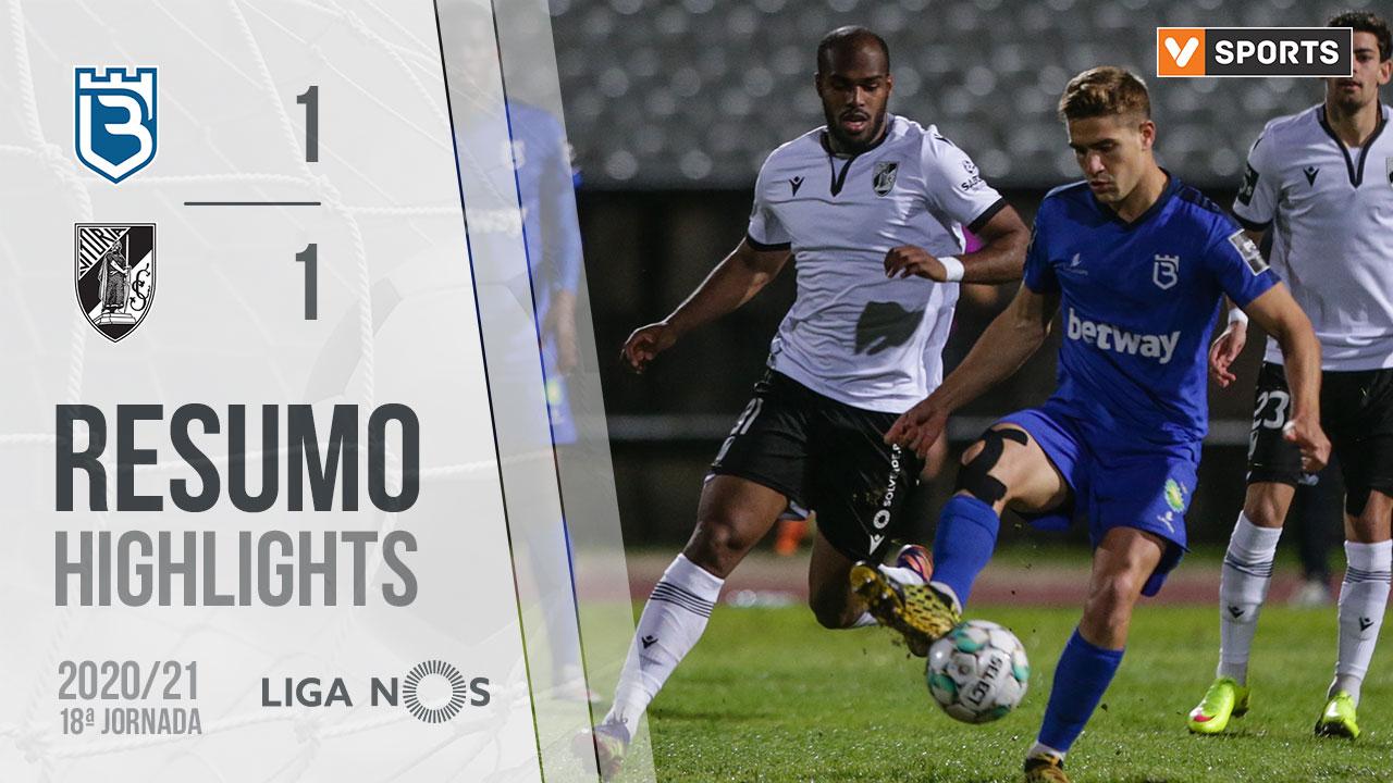 Liga NOS (18ªJ): Resumo Belenenses SAD 1-1 Vitória SC