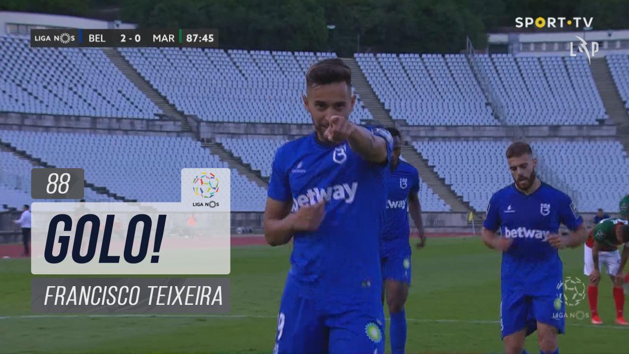 GOLO! Belenenses SAD, Francisco Teixeira aos 88', Belenenses SAD 2-0 Marítimo M.