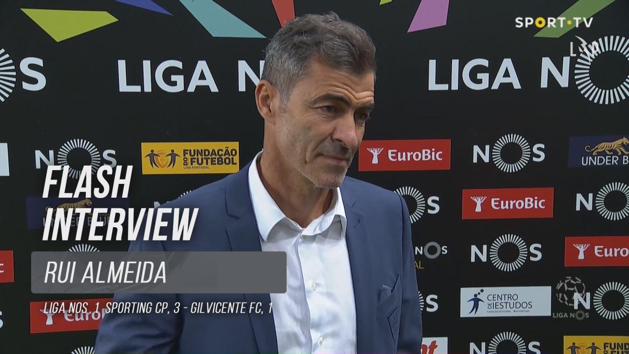 """Rui Almeida: """"É inglório não tirar pontos deste jogo"""""""