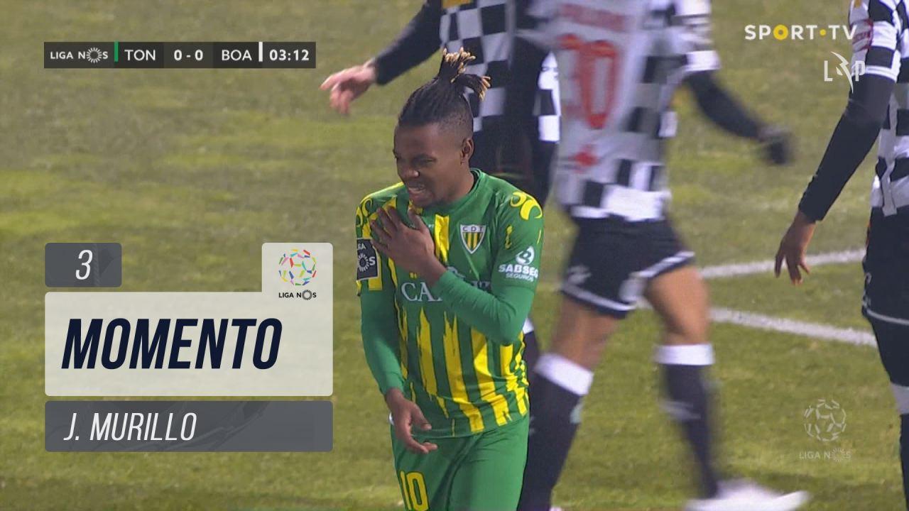 CD Tondela, Jogada, J. Murillo aos 3'