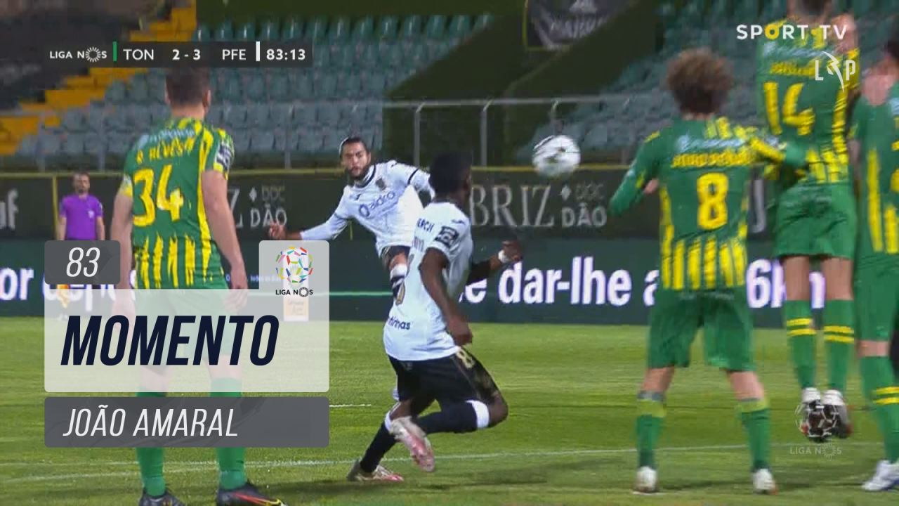 FC P.Ferreira, Jogada, João Amaral aos 83'
