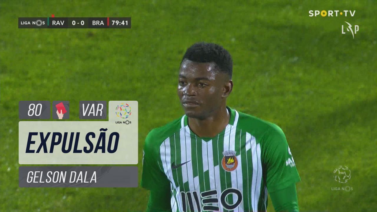 Rio Ave FC, Expulsão, Gelson Dala aos 80'