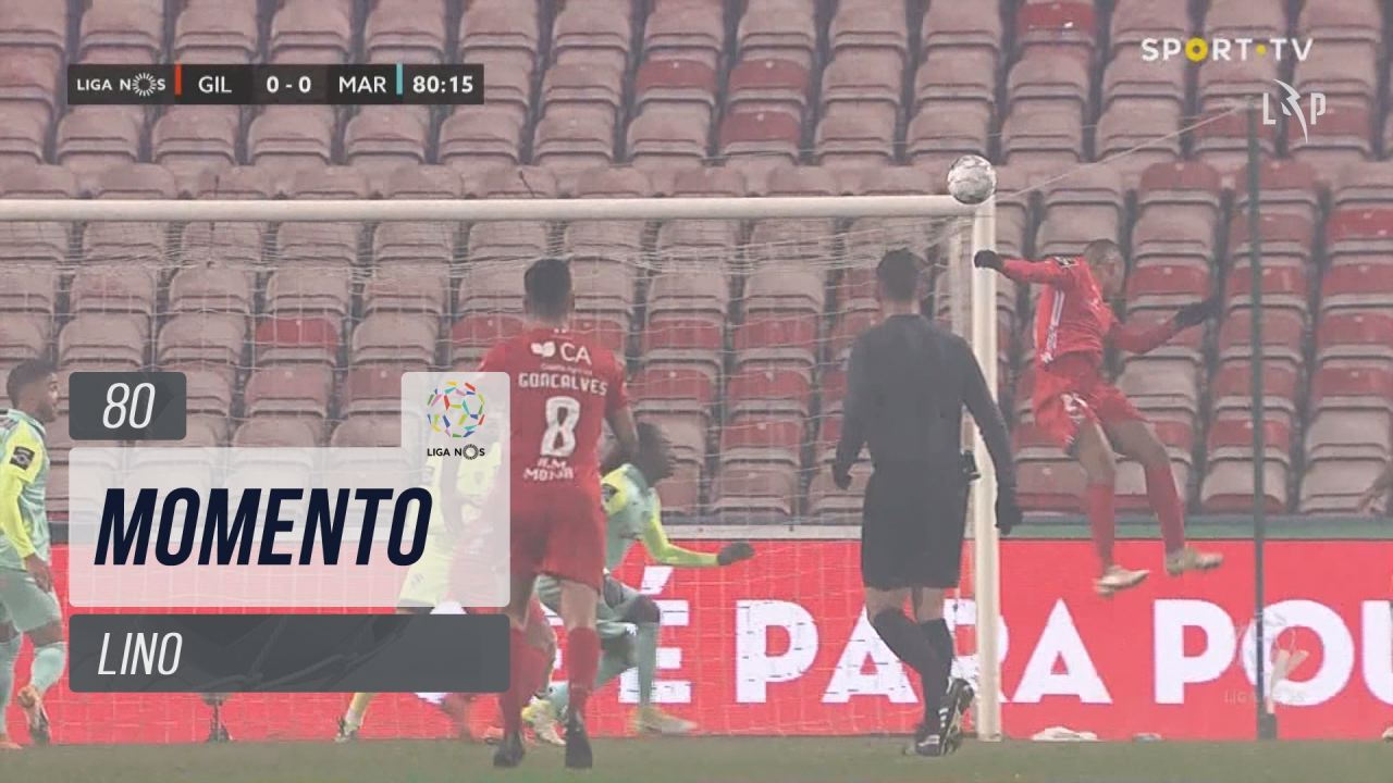 Gil Vicente FC, Jogada, Lino aos 80'