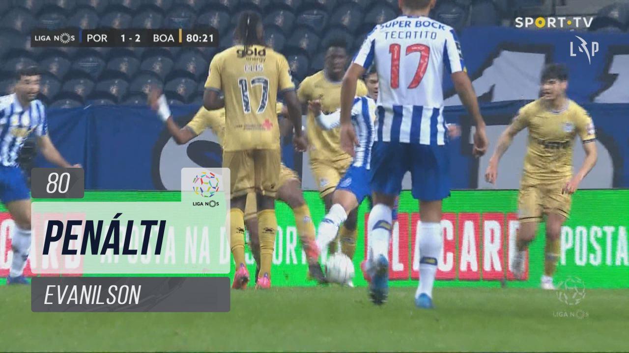 FC Porto, Penálti, Evanilson aos 80'